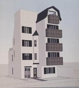 신사동 소형 통임대 빌딩