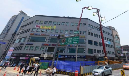 배명사거리 역세권 상가(지하1층)