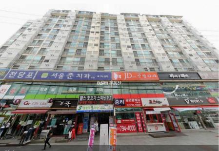하남시 스포츠센터 통임대 340평 매매 , 7%수익률