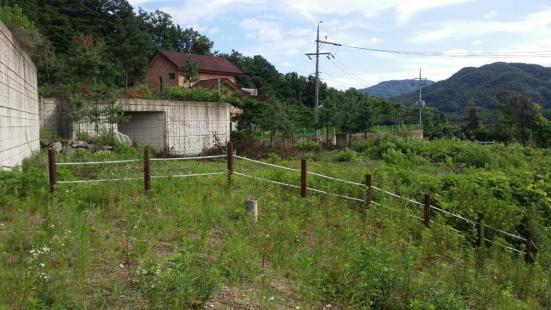 남한강 조망 가능한 전원주택 조성가능 부지