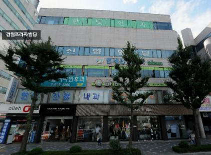강릉 최고 상권 1층 버스정류소 앞 상가