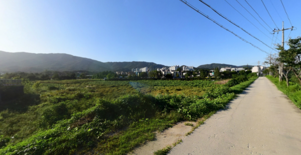 포천종합운동장 인근 4차선대로변 1종일반주거지역 토지