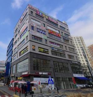 동탄에일린의 뜰 아파트 앞 상가,교육중심지 상가,유동인구